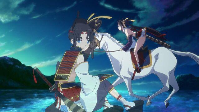 File:FGO Ushiwakamaru scene.jpg