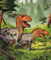 Daspletosaurus pair