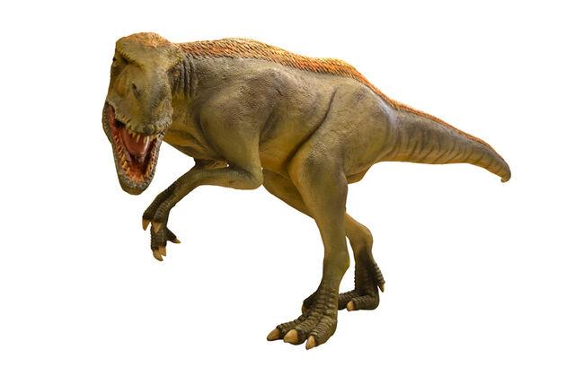 File:Eotyrannus big dinosaur fiberglass.jpg