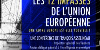 Affiche les 12 impasses de l'Union Européenne