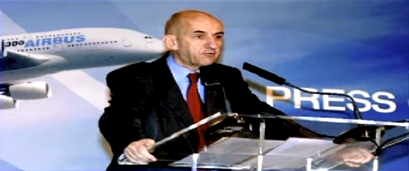 A Louis Gallois, président d´EADS, entretien dans le Figaro du 27 mars 2008