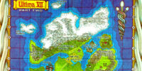 Ultima VII Part Two Map of Serpent Isle