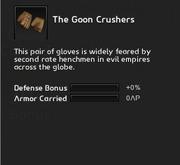 Goon crushers info