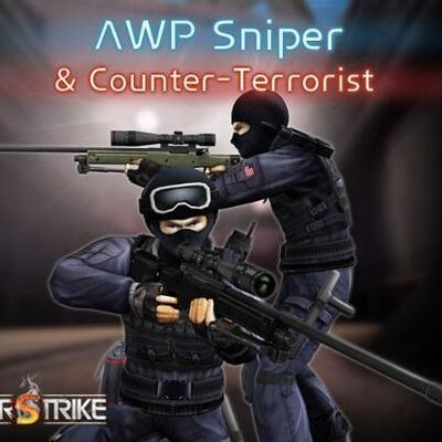Uberstrike CT Gear USA and The AWP Sniper