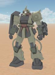 MS-06D Desert Type A Zaku 2