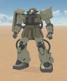 MS-06F2 Type B Zaku 2