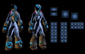 Al slot advanced battle suit