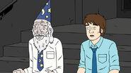 Mark and Leonard's hologram Melchior