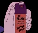 Dr. Bland's Mildly Irritating Pepper Spray