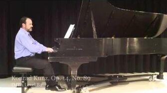 Konrad Kunz, Op. 14, No