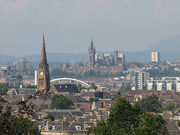 Glasgow from Queens Park