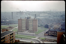 Carbrooke House, Holte & Priory Estate, Nechells, Aston, Looking Towards Nechells & Saltley.