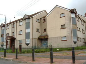 Boarded Up Flats in Drumchapel - geograph org uk - 444171 (1)