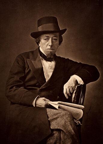 File:Benjamin Disraeli by Cornelius Jabez Hughes, 1878.jpg