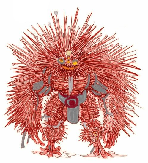 Sea Urchin by clone artist