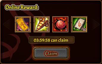 Online Pack 5th reward 2