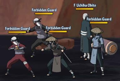 Taboo Jutsu Five Kages Conference Scuffle Fight 3 Uchiha Obito