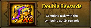Daily Task Double Rewards
