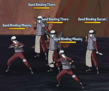 Sand Binding Land Fight 11