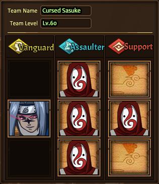 Team Cursed Sasuke N