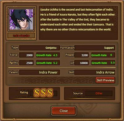 Indra Sasuke Grid