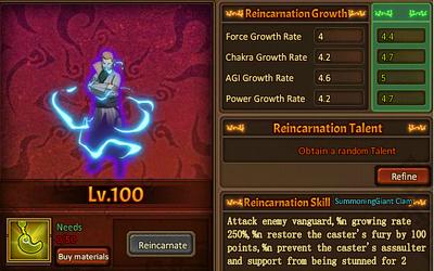 Reincarnation One 2nd Mizukage