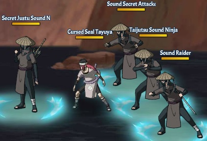 Jutsu of Blood CSTayuya
