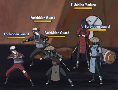 Taboo Jutsu Battle of the Valley of the End Fight 3 Madara