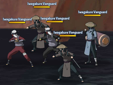 Top Kages 2nd Tsuchikage Team Fight One