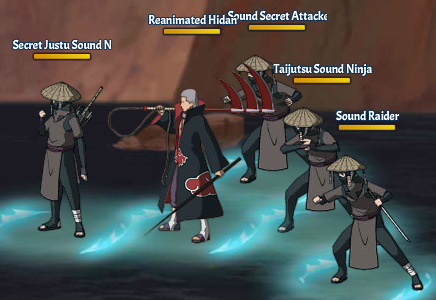 Kinjutsu Spirit Fight 12 Hidan