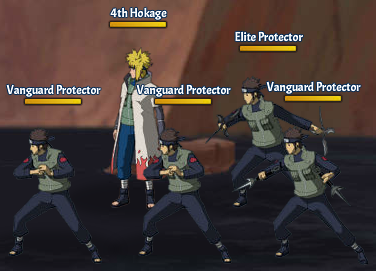 Top Kages 4th Hokage Fight