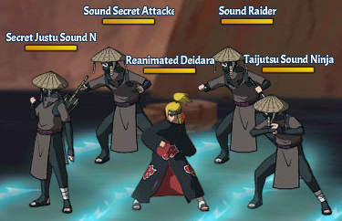 Kinjutsu Spirit Fight 6 Deidara