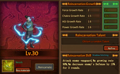 Reincarnation One Shikamaru