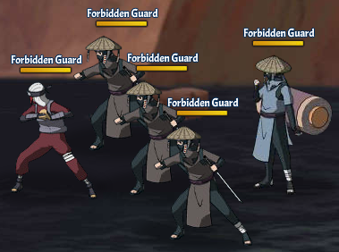 Taboo Jutsu Five Kages Conference Scuffle Fight 2
