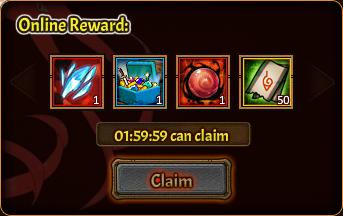 Online Pack 4th reward 2