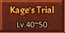 Kage's Trial Grid