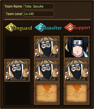 Crusade The Five Kage Summit Taka. Sasuke Hard