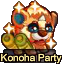 Konoha Party Small Grid