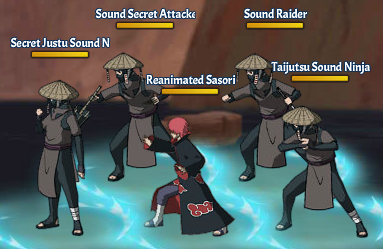 Kinjutsu Spirit Fight 9 Sasori