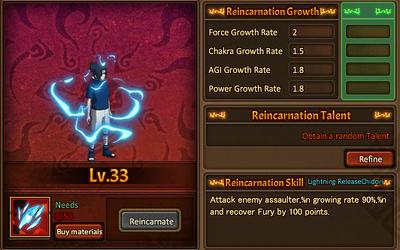 Reincarnation One Uchiha Sasuke