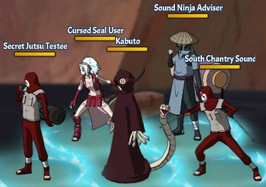 Jutsu of Blood Kabuto