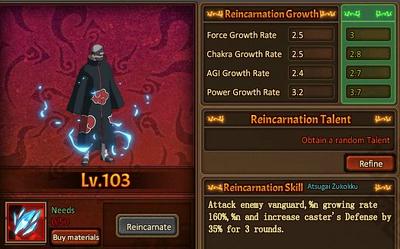 Reincarnation One Kakuzu