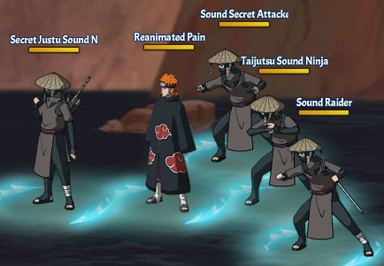 Kinjutsu Spirit Fight 14 Pain