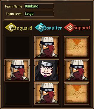 Team Kankuro HC-Lv.80