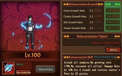 Reincarnation One Sai
