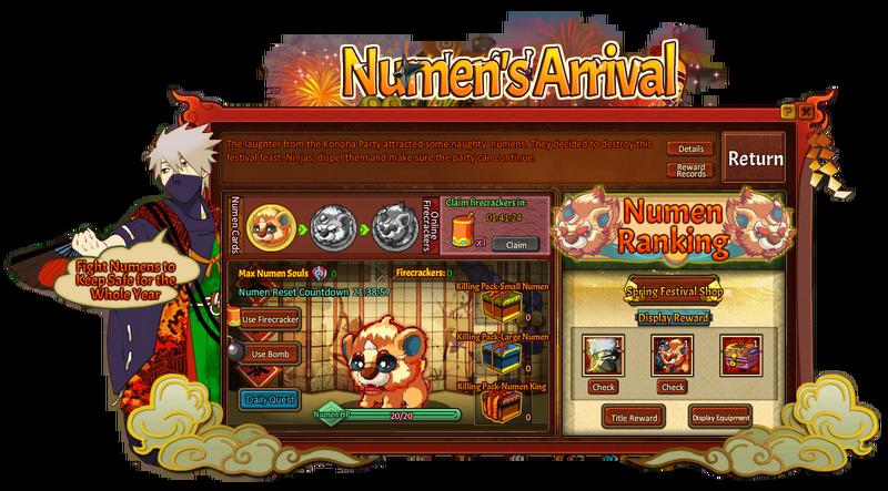 Konoha Party Numen's Arrival Grid