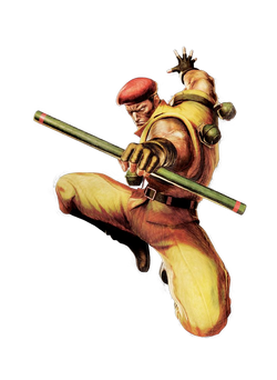 Ultra street fighter 4 rolento character render by xxkyrarosalesxx-d6dwh0m