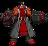Iron Tager (Calamity Trigger, Character Select Artwork)