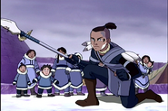 Sokka with his Spear