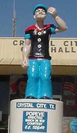 Popeye Statue 2